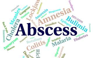 Abscesses requiring medical treatment