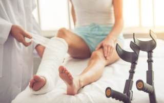 The Difference Between a Sprain vs. Fracture.