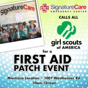 Girl Scouts First Aid Patch