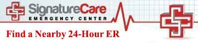 24-hour emergency room locations