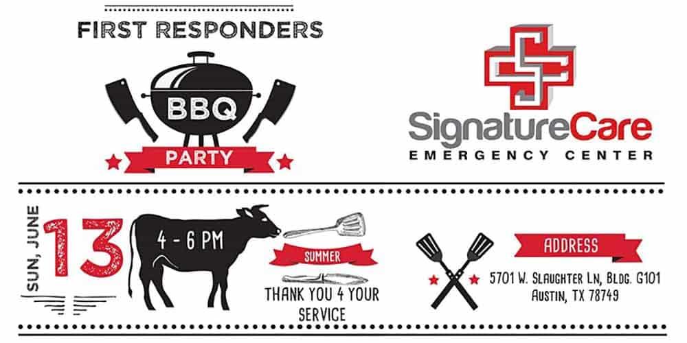 SignatureCare ER Austin, TX First Responders BBQ