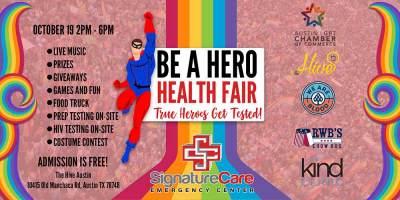 Be a Hero Health Fair, Austin TX
