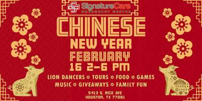 Bellaire ER Chinese New Year celebration