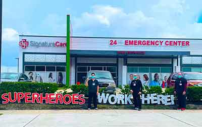 24-Hour Emergency Room, ER Near Me at SignatureCare Emergency Center in Texas