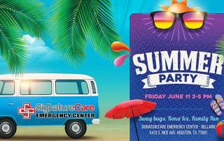 Bellaire ER School's Out For Summer Party