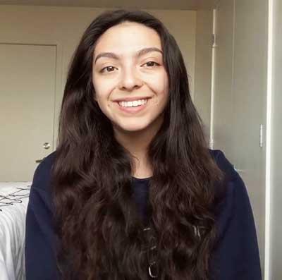 BriyaMarie Contreras, 2019 Fall Scholarship Award winner