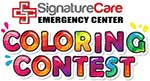 Signaturecare Emergency Center Coloring Contest