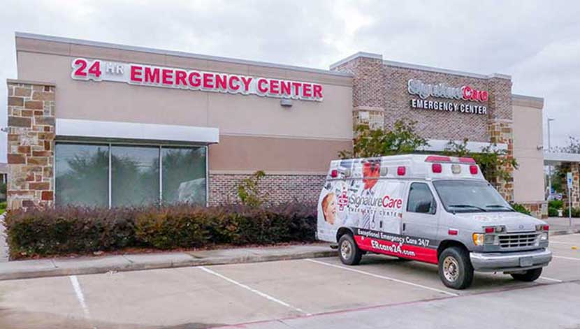 24-Hour Freestanding Emergency Room, SignatureCare Emergency Center Houston, TX