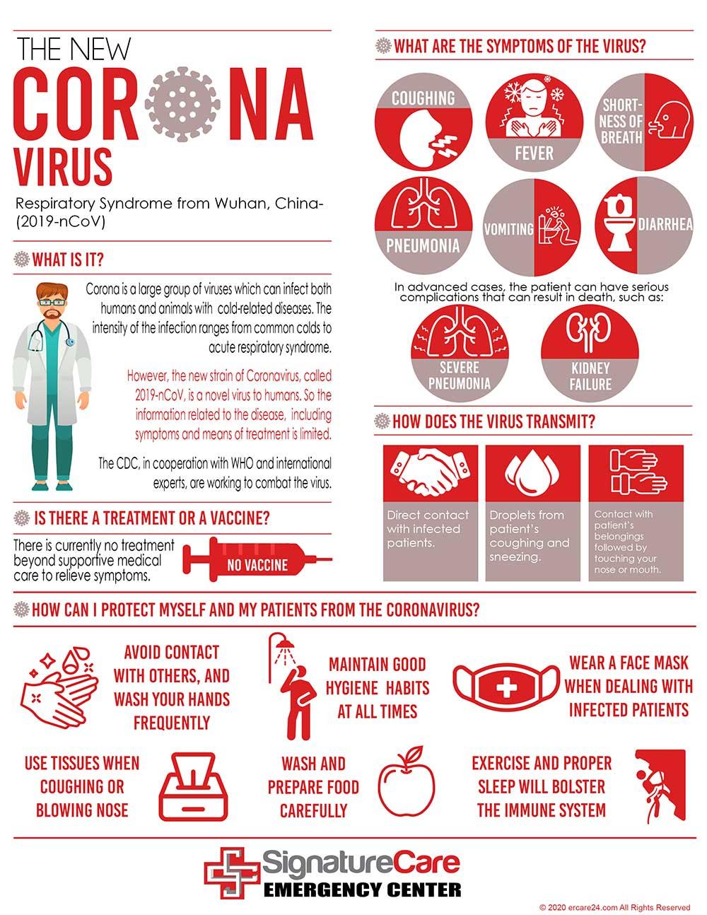 The New Coronavirus chart