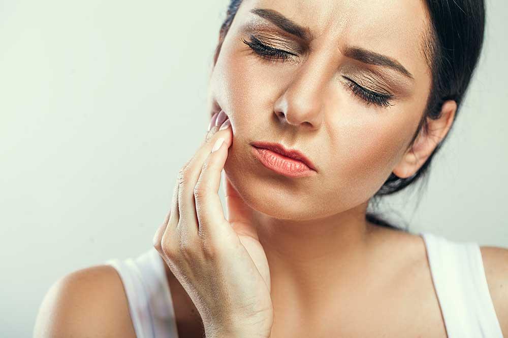 Dental emergency resulting in dental pain