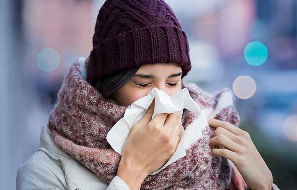 how to avoid getting flu or cold from family members