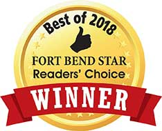Fort Bend Star Best of 2018 Award