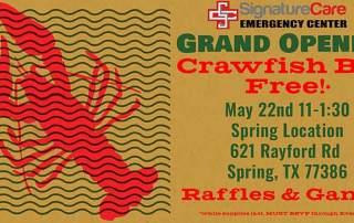 Free Crawfish in Spring, TX