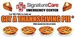 Free Apple or Pecan Pie for Thanksgiving