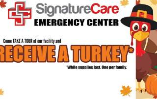 Free Thanksgiving Turkey - SignatureCare Emergency Center