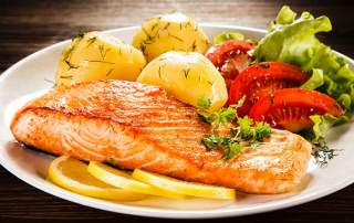 Healthy Cooking - Grilled Salmon