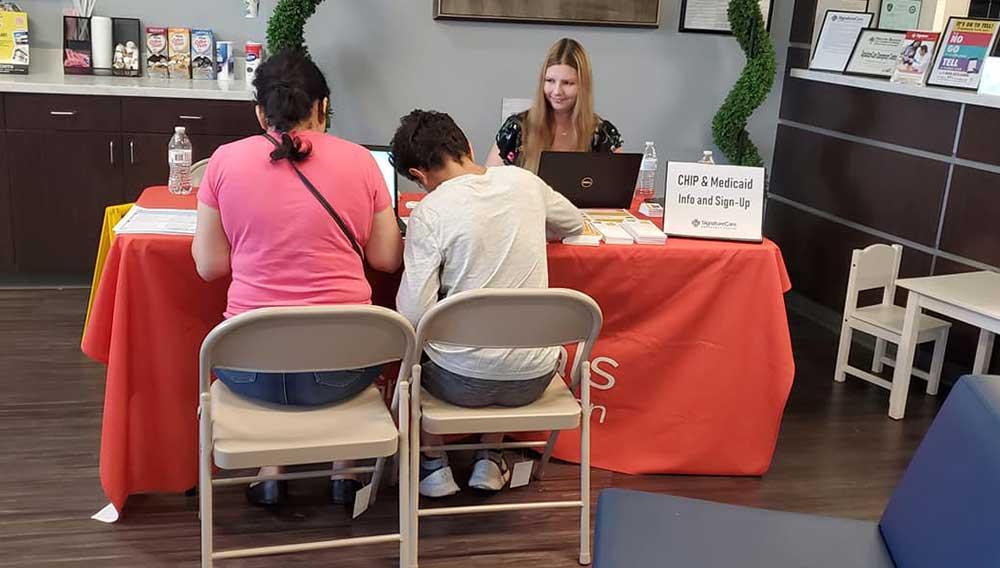 2019 Houston Care Fair - SignatureCare Emergency Center Health Fair