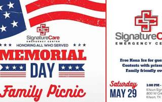 SignatureCare Emergency Center Killeen Memorial Day Summer Bash