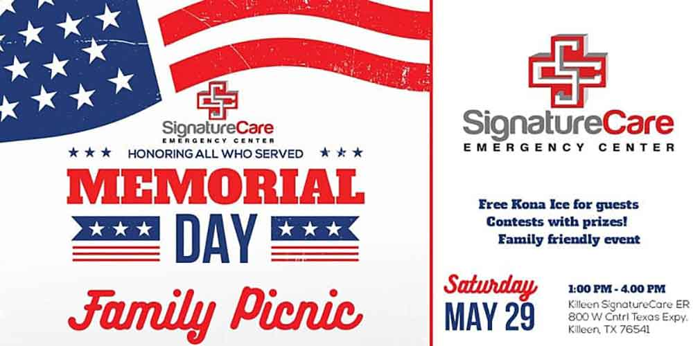 SignatureCare Emergency Center Killeen Memorial Day Summer Bash