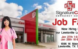 Lewisville, TX Job Fair - SignatureCare Emergency Center