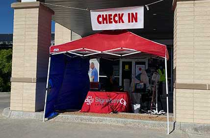 Signaturecare Emergency Center COVID-19 Screening