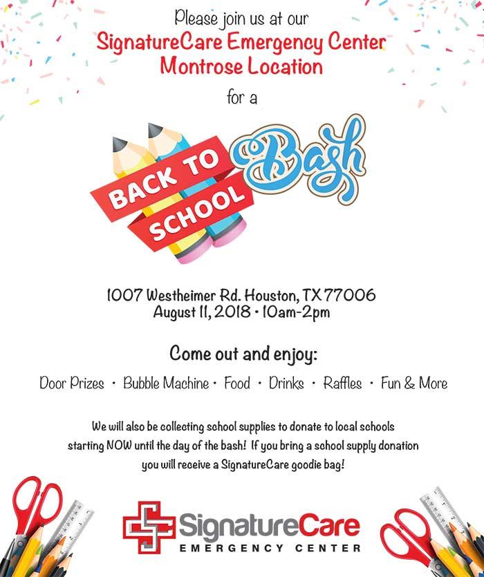 Montrose Back to School Bash