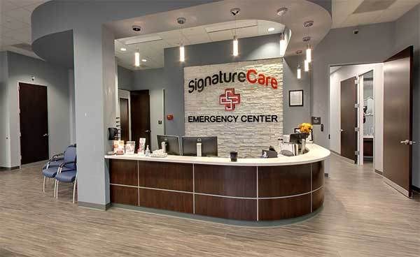 Inside SignatureCare Stafford, TX Emergency Center