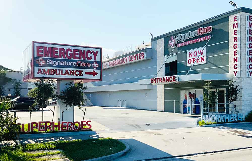 Montrose, Houston, TX Emergency Room Superheroes