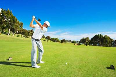 Muscle health effect on golf swing