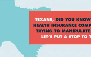 Claims Denials: MyEmergencyMyChoice TX campaign