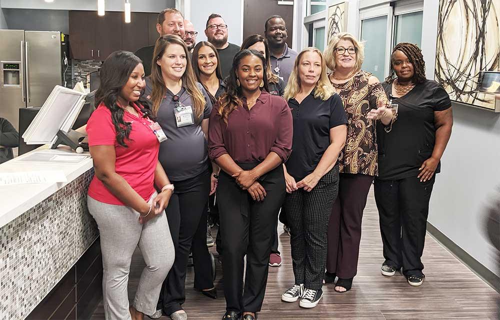 Emergency Nurses Week celebration at Stafford, TX Emergency Room