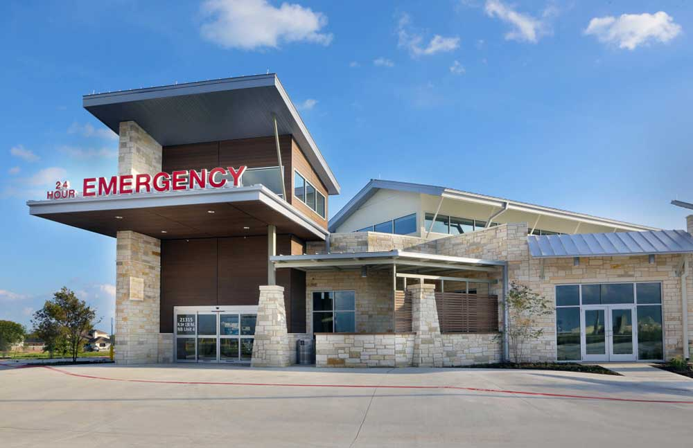 COVID-19 Testing Portal at Pflugerville Emergency Center, Pflugerville, TX