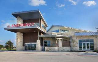 COVID-19 Testing Portal at Pflugerville Emergency Center, Pflugerville, TX