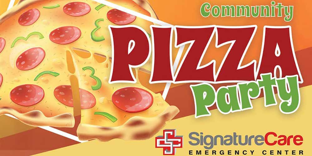Free Pizza Party - SignatureCare Emergency Room