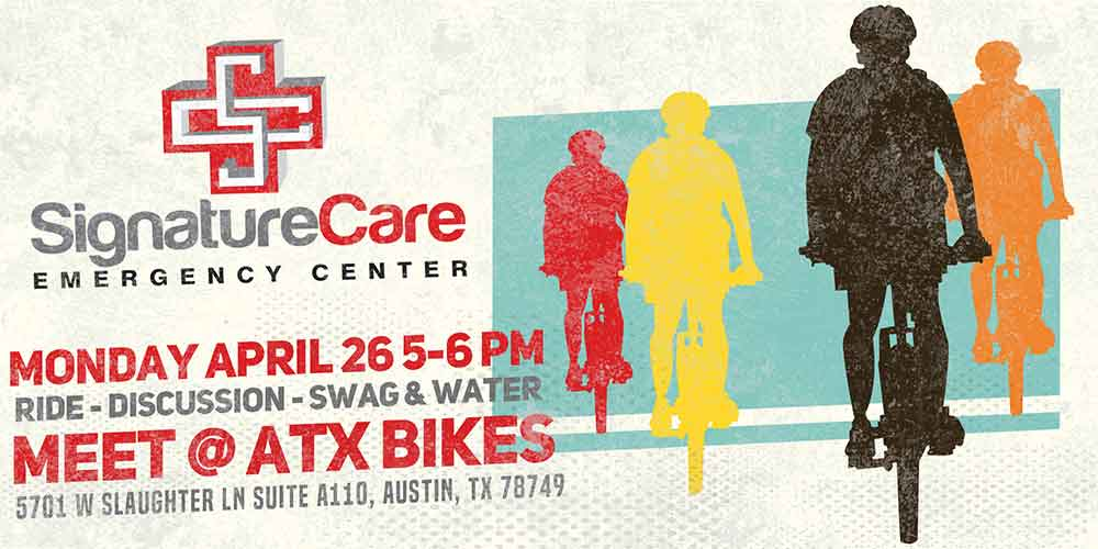 SignatureCare ER Ride with a Doc Bic Ride, Austin, TX