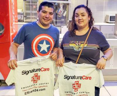 Avengers:Endgame SignatureCare Emergency Center Giveaway Weekend