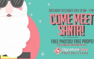 Meet Santa in Stafford ER