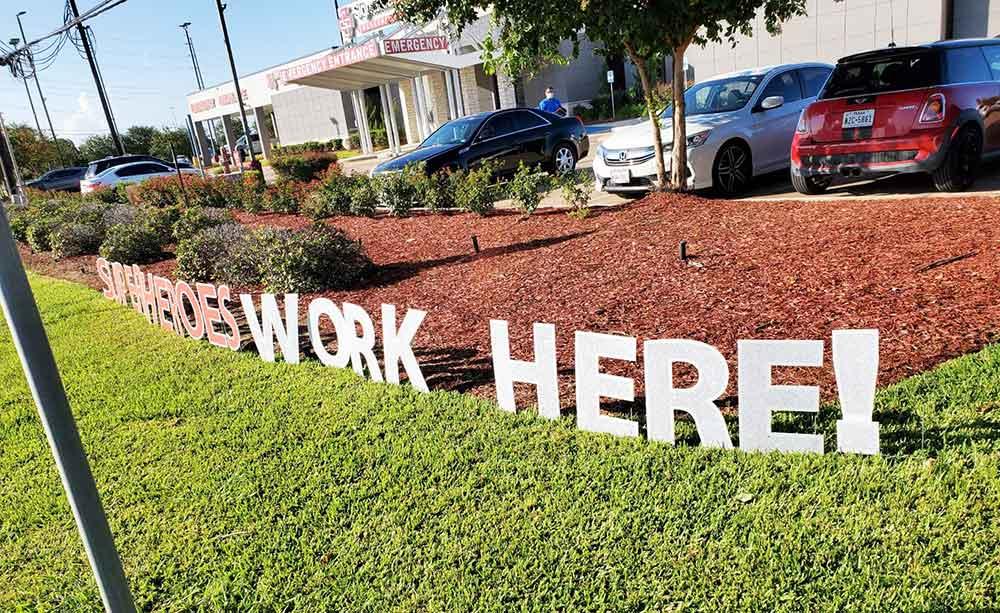 Stafford, TX Emergency Room Superheroes Nurses and Doctors