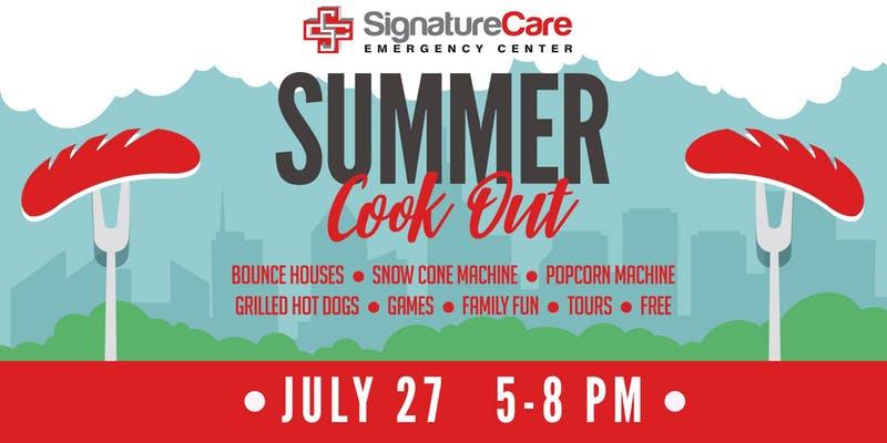 Odessa, TX Summer Cookout at SignatureCare ER