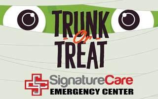 SignatureCare Emergency Center Pull-Up Trunk or Treat!