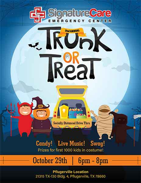 Pflugerville Emergency Room 2nd Annual Trunk or Treat